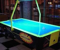 air hockey table over pool table flash ii air hockey table