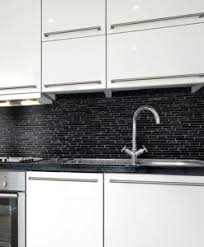 black backsplash in kitchen black backsplash tile mosaics ideas backsplash com