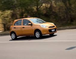 nissan micra quarter mile city car comparison fiat 500 v mitsubishi mirage v nissan micra v