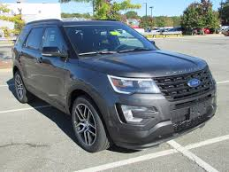 Ford Explorer Mpg - 2017 new ford explorer sport 4wd at watertown ford serving boston