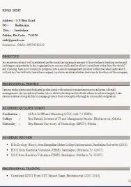 sample resume for mba marketing experience mba marketing resume mba bio data beautiful excellent