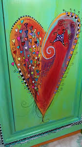 Bed Sheet Designs For Fabric Paint Top 25 Best Heart Painting Ideas On Pinterest Heart Sketch