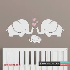 stickers elephant chambre bébé wall decals etsy sticker lovely wall stickers for bedrooms