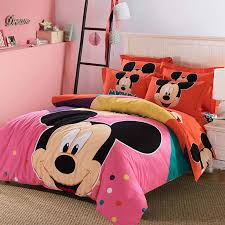 Girls King Size Bedding by Online Get Cheap Duvet Cover King Size Mickey Aliexpress Com