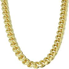 mens gold curb necklace images Mens 24k gold plated curb chain heavy necklace 30 quot long 10mm wide jpg