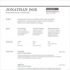 basic resume template word 2003 resume template free download sle word 2003