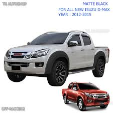 isuzu dmax 2015 monster off road isuzu d max 4door fender flares flare wheel arch