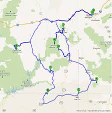 Capitol Reef National Park Map Road Trip To National Parks