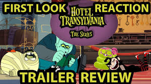hotel transylvania series disney channel teaser trailer