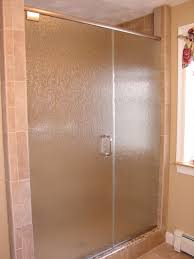 Bathroom Shower Door Ideas Colors How To Hide An Ugly Shower Door With A Cool Curtain I U0027m Going To