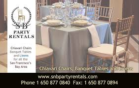 party rentals san francisco snb party rentals san francisco offering quality event equipment