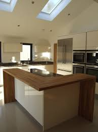 solid wood kitchen islands kitchen cool frame one side of your island in solid wood