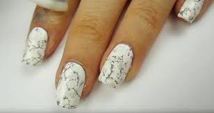 video diy water marble nails makeup tutorials