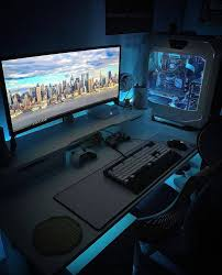 Good Computer Desk For Gaming Best 25 Pc Desks Ideas On Pinterest Pc Built Into Desk Gaming