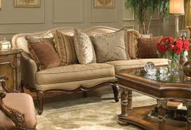 victorian living room house decoration natural brown finish wooden
