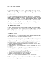Sample Cover Letter For It Professional by Cover Letter For Cv Wiki Superb How To Make A Great Cover Letter
