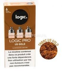 prix cigarette electronique bureau de tabac pack de 3 cartouches logic pro us gold chez cigarestore
