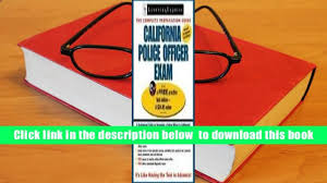 audiobook california police officer exam california police