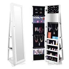 Where To Buy A Jewelry Armoire Jewelry Armoires Amazon Com