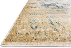 Blue And Gold Rug Anastasia Af 09 Blue Gold Area Rug From The Assorted Transitional