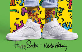happy socks to release new keith haring collection