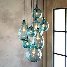 hand blown glass light globes hand blown glass lighting fixtures hand blown glass pendant l