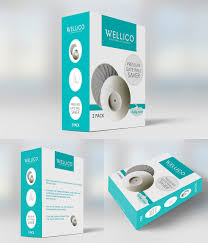professional modern packaging design for wellico ltd by gergana b