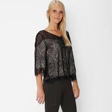 ella moss ella moss lace flutter sleeve top womens apparel at vickerey