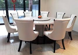 Marble Dining Table  Chairs Dining Rooms - Large round kitchen table