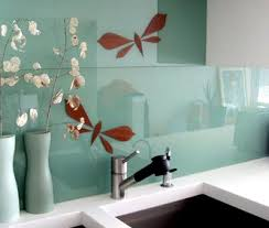 glass backsplashes for kitchens plate glass backsplashes kitchens