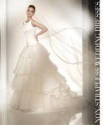 non strapless wedding dresses bridal fashion non strapless wedding dresses the magazine