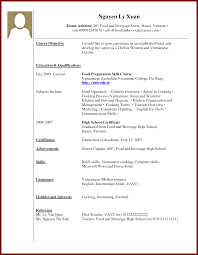 Sample Resume For College Student With No Experience by Sample Resume With No Work Experience College Student Free