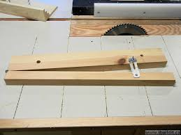 cutting angles on a table saw how to make a taper jig for the table saw ibuildit ca