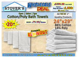 cotton poly bath towels wholesale fob cookeville tn