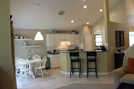 open floor plan kitchen ideas easy open floor plan kitchen and living room for home decoration