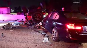 lexus san diego accident jeep vs gas tanker truck accident on 91 freeway in artesia socal