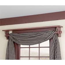 country style curtain rods 6555