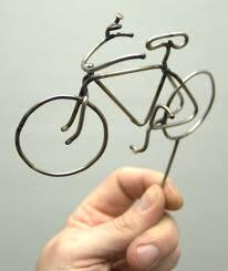 bicycle cake topper bicycle spoke cake topper skunkadelia