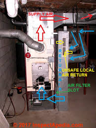 air conditioners how to locate or find the air filters on heating