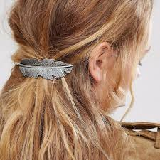 feather hair boho feather hair clip accesories style