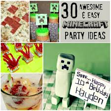 the party ideas 30 awesome easy minecraft party ideas