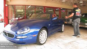 maserati cambiocorsa convertible 2002 maserati spyder for sale with test drive driving sounds and