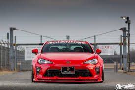 subaru brz front bumper stancenation x aimgain type 2 collaboration aero toyota 86