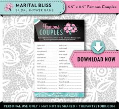 couples bridal shower marital bliss couples bridal shower the party stork