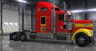 kenworth service truck kenworth w900 american truck simulator mods ats mods