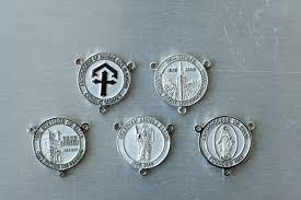 custom rosary custom rosary medals goodheart s jewelry