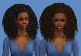 sims 4 custom content hair sims 4 curly hair tumblr