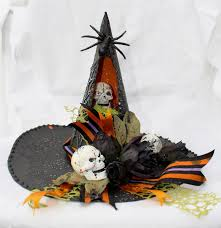 witch home decor juju crafts halloween witch hat night light home decor with
