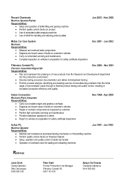 Machine Operator Resume Example by Ricardo Shi Cv 2014 11 18 Linkedin