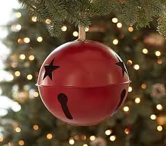 jingle bell ornament pottery barn